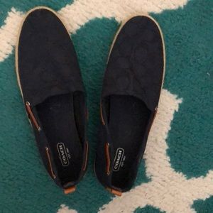 Coach Navy Shoes